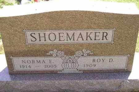 SHOEMAKER, NORMA E. - Miner County, South Dakota | NORMA E. SHOEMAKER - South Dakota Gravestone Photos