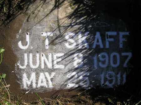 SKAFF, J.T. - Miner County, South Dakota | J.T. SKAFF - South Dakota Gravestone Photos
