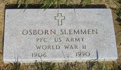 SLEMMEN, OSBORN - Miner County, South Dakota | OSBORN SLEMMEN - South Dakota Gravestone Photos