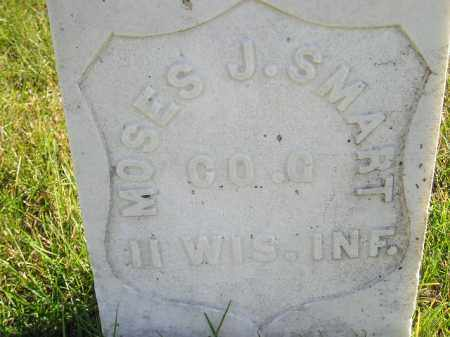 SMART, MOSES J. - Miner County, South Dakota | MOSES J. SMART - South Dakota Gravestone Photos
