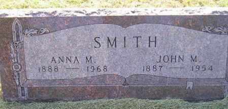 SMITH, JOHN M. - Miner County, South Dakota | JOHN M. SMITH - South Dakota Gravestone Photos