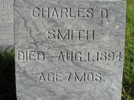 SMITH, CHARLES D. - Miner County, South Dakota | CHARLES D. SMITH - South Dakota Gravestone Photos