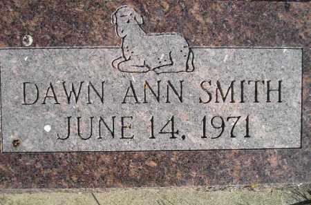 SMITH, DAWN ANN - Miner County, South Dakota | DAWN ANN SMITH - South Dakota Gravestone Photos