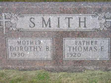 SMITH, THOMAS E. - Miner County, South Dakota | THOMAS E. SMITH - South Dakota Gravestone Photos