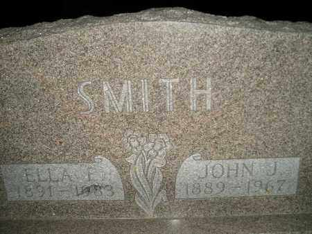 SMITH, ELLA EMMA BURCH - Miner County, South Dakota | ELLA EMMA BURCH SMITH - South Dakota Gravestone Photos