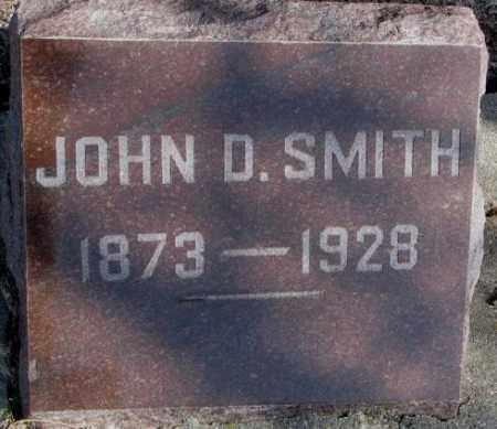 SMITH, JOHN D. - Miner County, South Dakota | JOHN D. SMITH - South Dakota Gravestone Photos