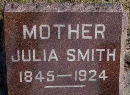 SMITH, JULIA - Miner County, South Dakota   JULIA SMITH - South Dakota Gravestone Photos