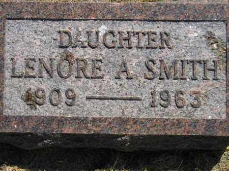 SMITH, LENORE A. - Miner County, South Dakota | LENORE A. SMITH - South Dakota Gravestone Photos