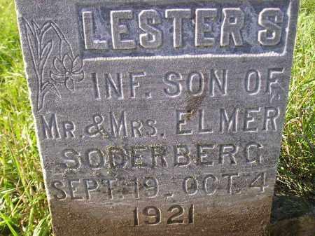 SODERBERG, LESTER S. - Miner County, South Dakota | LESTER S. SODERBERG - South Dakota Gravestone Photos