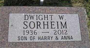 SORHEIM, DWIGHT W - Miner County, South Dakota   DWIGHT W SORHEIM - South Dakota Gravestone Photos