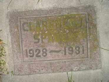 SPADER, CLARENCE J. - Miner County, South Dakota | CLARENCE J. SPADER - South Dakota Gravestone Photos