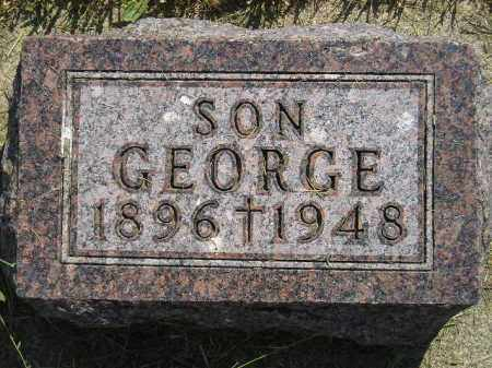 SPENCER, GEORGE - Miner County, South Dakota | GEORGE SPENCER - South Dakota Gravestone Photos