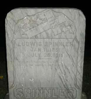 SPINNLER, LUDWIG - Miner County, South Dakota   LUDWIG SPINNLER - South Dakota Gravestone Photos