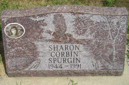 CORBIN SPURGIN, SHARON - Miner County, South Dakota | SHARON CORBIN SPURGIN - South Dakota Gravestone Photos