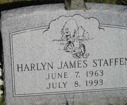 STAFFEN, HARLYN JAMES - Miner County, South Dakota | HARLYN JAMES STAFFEN - South Dakota Gravestone Photos