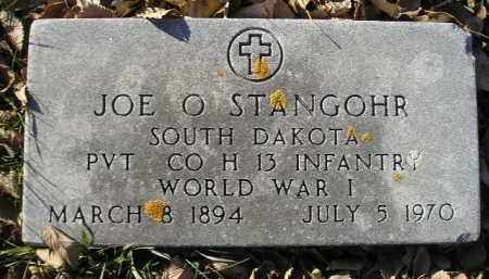 STANGOHR, JOE O. (WW I) - Miner County, South Dakota | JOE O. (WW I) STANGOHR - South Dakota Gravestone Photos