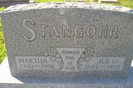 STANGOHR, MARTHA - Miner County, South Dakota | MARTHA STANGOHR - South Dakota Gravestone Photos