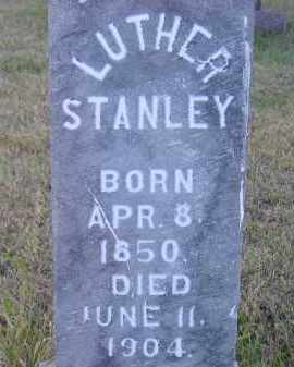STANLEY, LUTHER - Miner County, South Dakota | LUTHER STANLEY - South Dakota Gravestone Photos