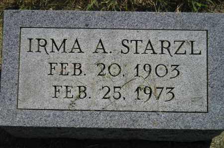 STARZL, IRMA A. - Miner County, South Dakota | IRMA A. STARZL - South Dakota Gravestone Photos