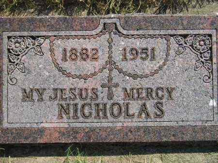 STARZL, NICHOLAS - Miner County, South Dakota | NICHOLAS STARZL - South Dakota Gravestone Photos