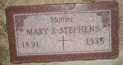 STEPHENS, MARY E. BOEHMER - Miner County, South Dakota | MARY E. BOEHMER STEPHENS - South Dakota Gravestone Photos