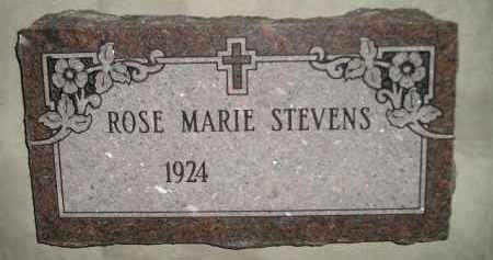 STEVENS, ROSE MARIE - Miner County, South Dakota | ROSE MARIE STEVENS - South Dakota Gravestone Photos
