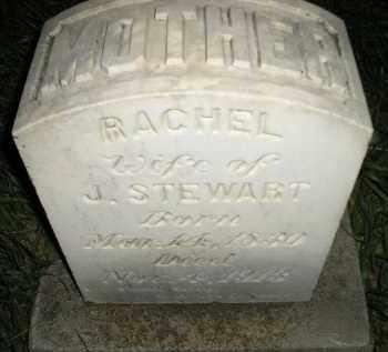 STEWART, RACHEL - Miner County, South Dakota | RACHEL STEWART - South Dakota Gravestone Photos