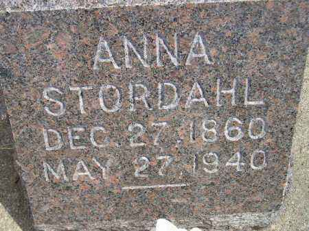 STORDAHL, ANNA - Miner County, South Dakota | ANNA STORDAHL - South Dakota Gravestone Photos