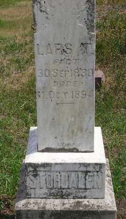 STORDALEN, LARS T. (STONE #2) - Miner County, South Dakota | LARS T. (STONE #2) STORDALEN - South Dakota Gravestone Photos
