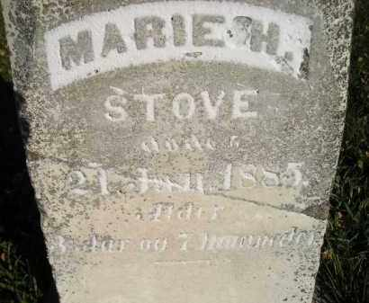 STOVE, MARIE H. - Miner County, South Dakota | MARIE H. STOVE - South Dakota Gravestone Photos