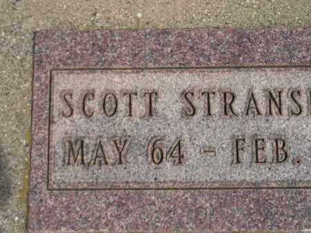 STRANSKY, SCOTT - Miner County, South Dakota | SCOTT STRANSKY - South Dakota Gravestone Photos