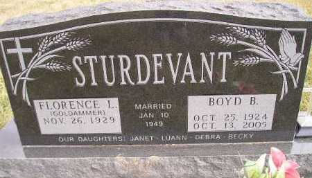 STURDEVANT, BOYD B. - Miner County, South Dakota | BOYD B. STURDEVANT - South Dakota Gravestone Photos