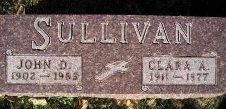 SULLIVAN, CLARA A. - Miner County, South Dakota | CLARA A. SULLIVAN - South Dakota Gravestone Photos
