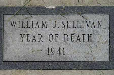 SULLIVAN, WILLIAM J. - Miner County, South Dakota | WILLIAM J. SULLIVAN - South Dakota Gravestone Photos