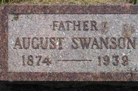 SWANSON, AUGUST - Miner County, South Dakota   AUGUST SWANSON - South Dakota Gravestone Photos