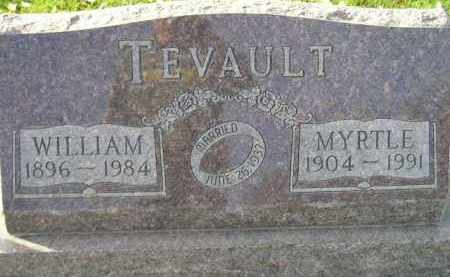 TEVAULT, MYRTLE - Miner County, South Dakota | MYRTLE TEVAULT - South Dakota Gravestone Photos