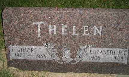 THELEN, ELIZABETH M. - Miner County, South Dakota | ELIZABETH M. THELEN - South Dakota Gravestone Photos