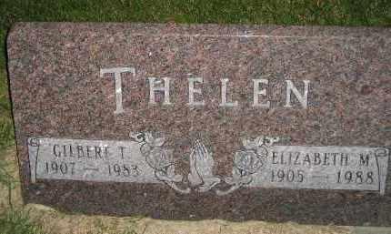 THELEN, GILBERT T. - Miner County, South Dakota | GILBERT T. THELEN - South Dakota Gravestone Photos