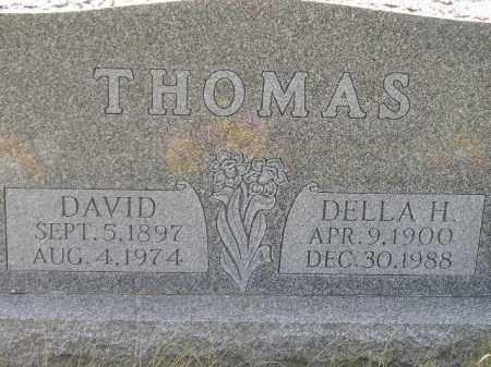 THOMAS, DELLA H. - Miner County, South Dakota | DELLA H. THOMAS - South Dakota Gravestone Photos
