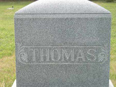 THOMAS, FAMILY STONE - Miner County, South Dakota | FAMILY STONE THOMAS - South Dakota Gravestone Photos