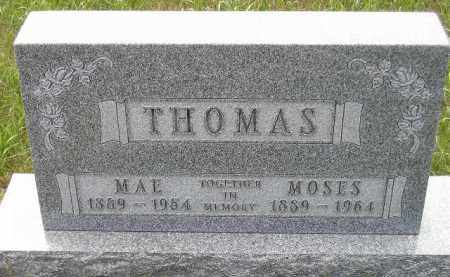THOMAS, MAE - Miner County, South Dakota | MAE THOMAS - South Dakota Gravestone Photos