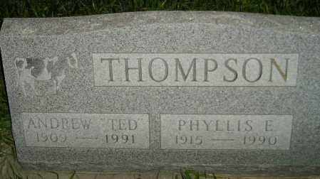 THOMPSON, PHYLLIS E. - Miner County, South Dakota   PHYLLIS E. THOMPSON - South Dakota Gravestone Photos