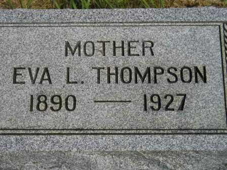 THOMPSON, EVA L. - Miner County, South Dakota   EVA L. THOMPSON - South Dakota Gravestone Photos