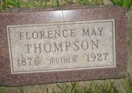 THOMPSON, FLORENCE MAY - Miner County, South Dakota | FLORENCE MAY THOMPSON - South Dakota Gravestone Photos