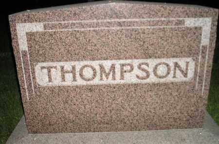 THOMPSON, FAMILY STONE - Miner County, South Dakota | FAMILY STONE THOMPSON - South Dakota Gravestone Photos