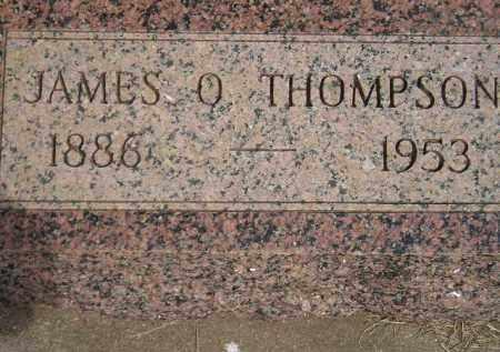 THOMPSON, JAMES O. - Miner County, South Dakota | JAMES O. THOMPSON - South Dakota Gravestone Photos