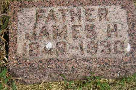 THOMPSON, JAMES H. - Miner County, South Dakota   JAMES H. THOMPSON - South Dakota Gravestone Photos