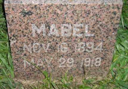 THOMPSON, MABEL - Miner County, South Dakota | MABEL THOMPSON - South Dakota Gravestone Photos