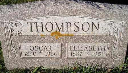 THOMPSON, OSCAR - Miner County, South Dakota | OSCAR THOMPSON - South Dakota Gravestone Photos