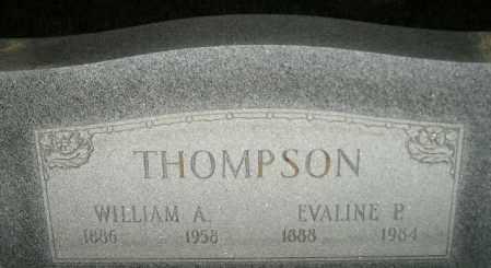 THOMPSON, WILLIAM A. - Miner County, South Dakota | WILLIAM A. THOMPSON - South Dakota Gravestone Photos
